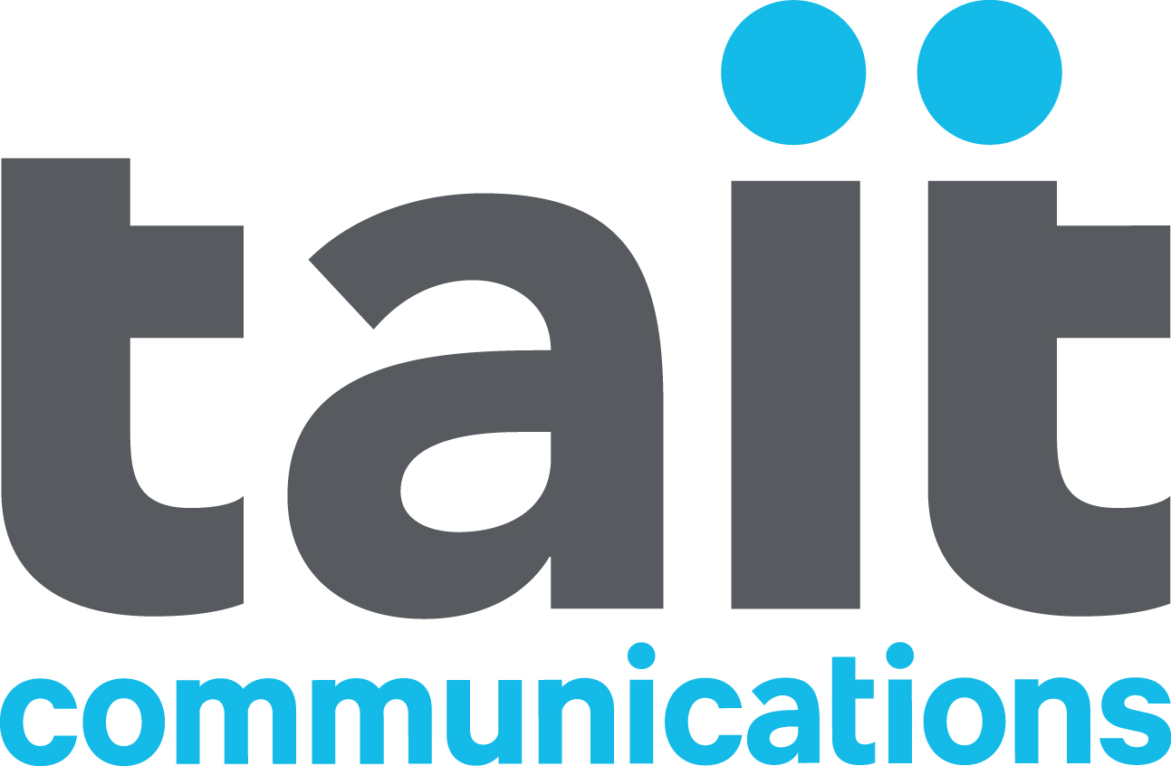 logo of tait_logo_original_grey-blue_rgb.jpg